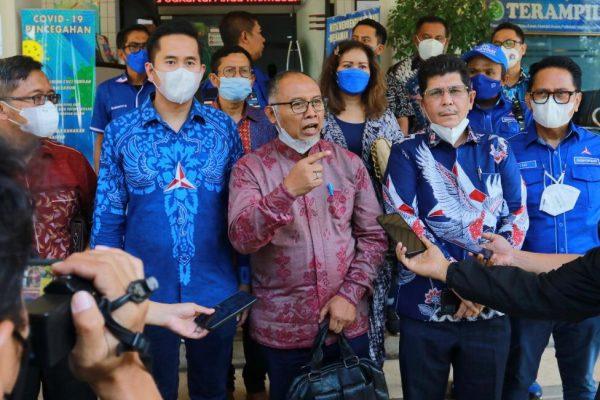 Kuasa hukum Partai Demokrat, Bambang Widjojanto