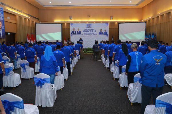 Gelaran Muscab Demokrat Jateng di Kota Semarang September 2021