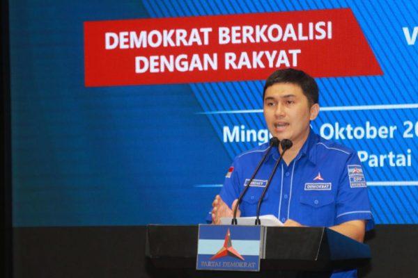 Konpers di DPP Partai Demokrat, Minggu 3 Oktober 2021