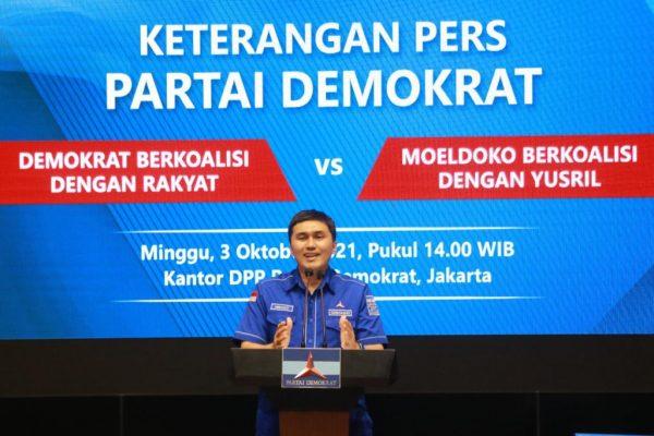 Herzaky Mahendra (Kepala Bakomstra) DPP Demokrat